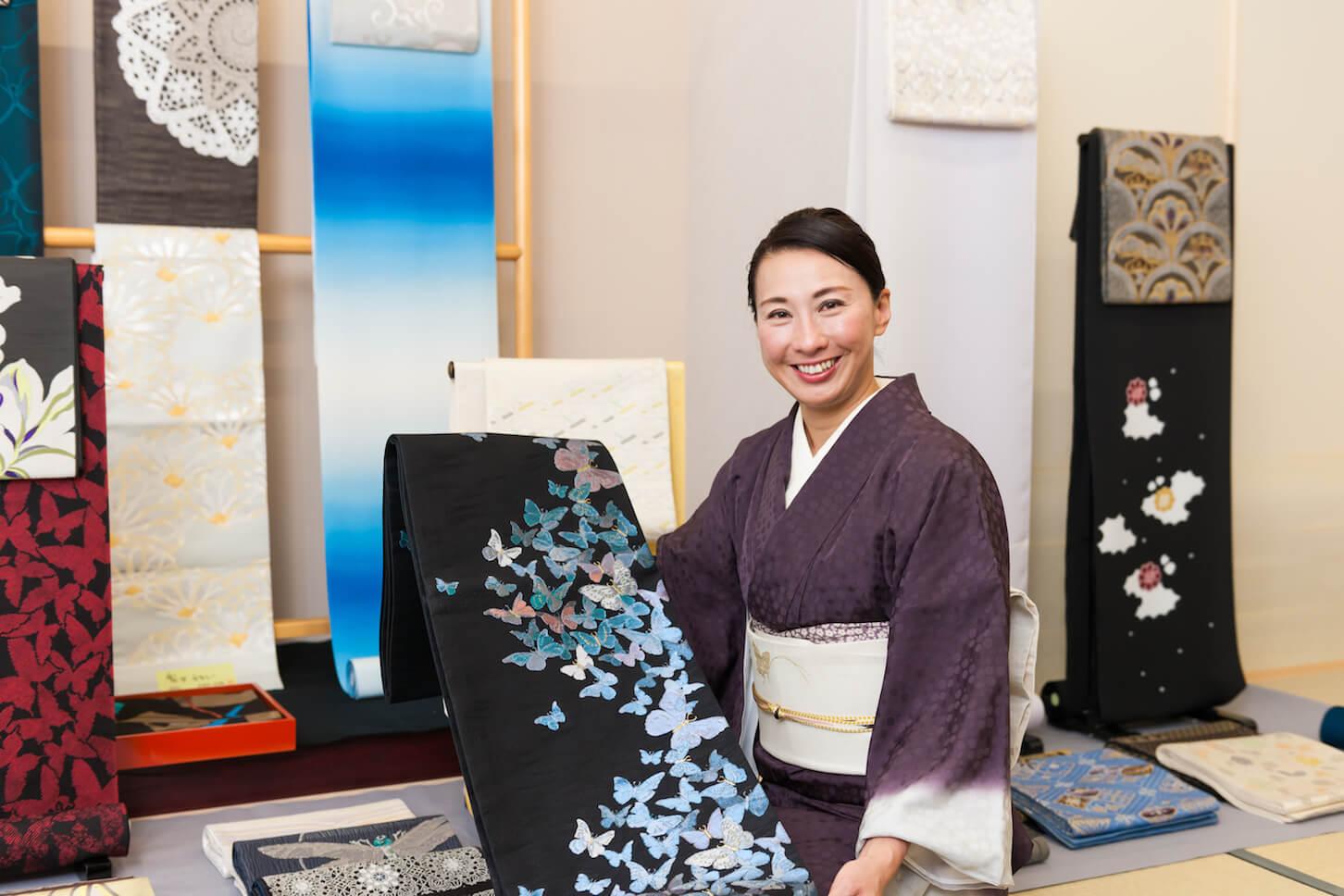 現代女性に似合う着物をつくる。京都・西陣「かはひらこ」佐竹美都子さん(前編)