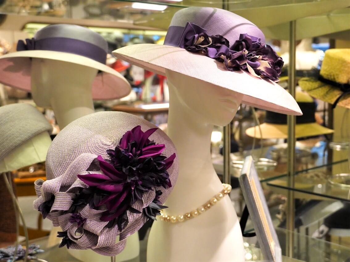 エレガントに大人の帽子を着こなすライフスタイル 神戸の帽子専門店「マキシン」を訪ねて[後編]
